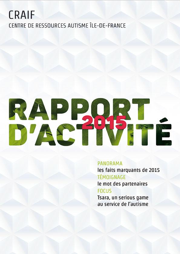 rapport Activité CRAIF 2015